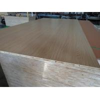Buy cheap Smoked Surface Melamine Laminated Block Board For House Cabinets High Strength product