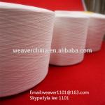 El 100% brillante hizo girar el fabricante del hilo de coser del poliéster en