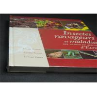 Buy cheap Professional France Insects Hardcover Book Printing With Plastic Film product