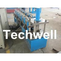 Buy cheap Hydraulic Cutting, 8 - 11 Stations, Steel Angle Roll Forming Machine TW-L50 product