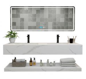 Buy cheap SGS Engineered Quartz Stone Bathroom Vanity Tops product