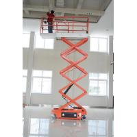 Buy cheap 2.2kw Scissor Electric Lifting Platform safety for 4m 6m 8m 10m Working heights product