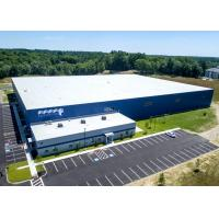 Quality Large Steel Frame Warehouse Prefab Industrial Buildings Corrosion Protection for sale