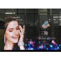 Buy cheap Ultra Slim Design Transparent LED Screens For Glass Wall / Stores Advertising product