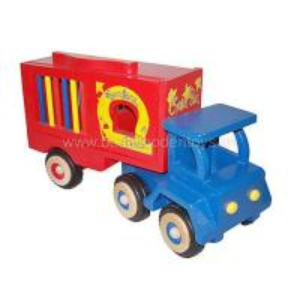 China Wooden Truck toy,  children's trucks on sale