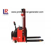 Buy cheap Hydraulic Fork Lift Type 4.5m Height Electric Pallet Stacker Stepless Speed Change Battery product