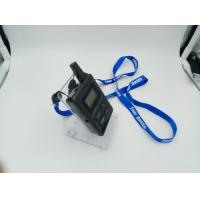 Buy cheap E8 Ear Hanging Wireless Audio Guide System , Black Simultaneous Translation Device product