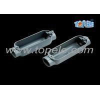 Buy cheap C Threaded Aluminum Rigid Conduit Body With Outlet Box Corrosion Resistant product