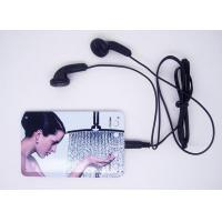 Buy cheap Thin Fashion Card MP3 Player (C002) product