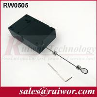 Quality Retail Stores Display Cell Phone Anti Theft Cable With Adjustable Loop End for sale