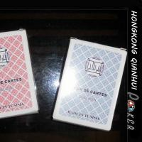 China DOUBLE KROON JEUX DE CARTES BULK CASINO QUALITY PLAYING CARDS FOR TUNISIA MARKET on sale