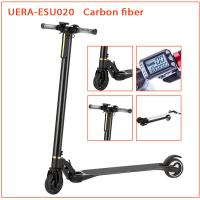 Buy cheap Carbon Fiber Folding Motorized Scooter 5 Inch Smart Self Balancing Battery Powered product