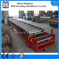 Buy cheap Filming Laminating Floor Deck Roll Forming Machine Cr12 Cutting Blade product