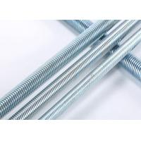 Buy cheap Grade 4.8 / 6.8 / 8.8 Threaded Rods For Construction Building DIN Standard product