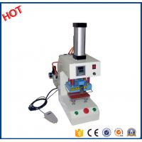 Buy cheap New type Cheap used digital pneumatic logo marking printing heat press machine for all fabric factory16D product