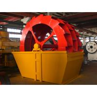 China Wheel Bucket Spiral Washing Machine Sand Washer For River Sand Cleaning XSD2610 on sale