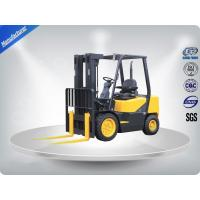 China 3.0 Ton AC Motor Yellow Electric Forklift Truck Hire With Isuzu C240 Engine wholesale