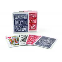 Buy cheap Tally-Ho Marked Playing Cards Plastic Invisible Ink Poker Cheating Cards product