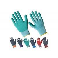 Buy cheap Working Cotton Palm Safety Industrial Latex Coated Glove product