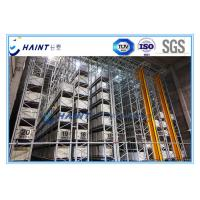Buy cheap Intelligent Automated Storage Retrieval System , AS RS Automated Pallet Racking Systems product