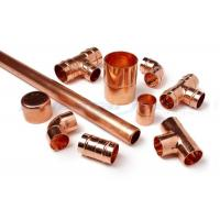 Buy cheap 3 Way Cross Coupling Straight Tap Connector , 1/4 Inch Copper End Feed Fittings product