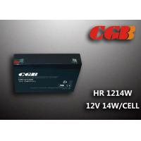 Buy cheap 12V 3AH HR1214W Energy Storage Battery , High Rate Discharge battery Maintenance Free product