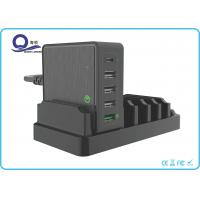 China Type C USB Desktop Charging Station with QC 3.0 Supported Quick Charger / Portable Charging Station on sale