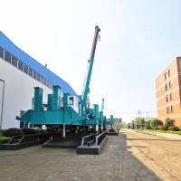 Buy cheap No Vibration 6.5m/Min Hydraulic Static Pile Driver product