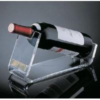 Buy cheap Restaurant Acrylic Wine Holder / Racks With Beautiful Shape product