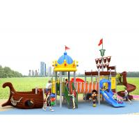 Buy cheap Winter Protect Plastic Slide Set , Funny Color Kids Slide Set With Customized Size product