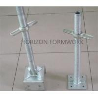 Buy cheap Metal Adjustable Scaffold Screw Jack Base For Leveling Ring Lock System Height product