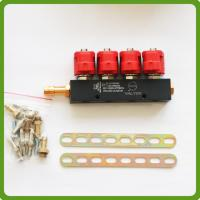 Buy cheap CNG LPG Injector Rail 3Ohms for 4cylinder Sequential injection System Common product