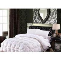 Buy cheap 100% Cotton Luxury Duck Down Quilt / Duck Feather And Down Duvet Alternative Washed product