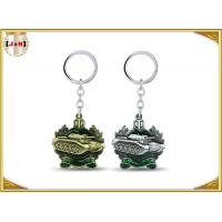 Buy cheap Die Casting 3D Brass Vintage Metal Key Ring Pear Finishing For Promotion With Laser Logo product