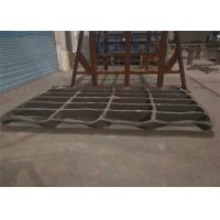 Buy cheap High Manganese Steel Stone Crusher Jaw Plate Casting Processing from wholesalers