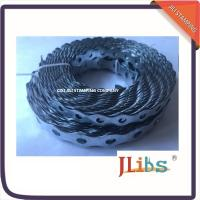 Buy cheap Metal Fixing Band Galvanized Steel Banding Rounded Hanging Ductwork 12mm-26mm Size product
