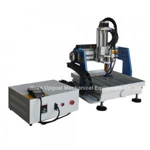 Quality Mini metal del CNC de la mesa 360*360m m que talla la máquina con control de DSP for sale