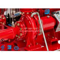 Buy cheap High Efficiency Centrifugal Fire Pump 200 Usgpm@105PSI Ductile Cast Iron Materials product
