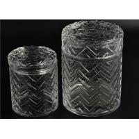 Buy cheap Modern Tall Glass Candle Holder Glassware Large Capacity 69ml product