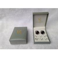 China Ring Storage Cufflink Gift Boxes Personalized For Packing , Book - Type wholesale