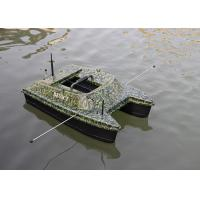 Buy cheap DEVC-308 camouflage catamaran bait boat / rc fishing bait boat 2.4GHz Remote Frequency product