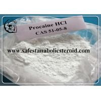 China Assay 99% Procaine Hcl Raw Pain Relief Powder CAS 51-05-8  Local Anesthetic Drugs wholesale