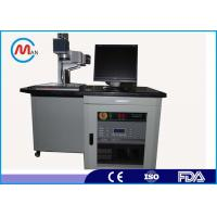 China Air Cooling Stainless Steel / Ceramic / Fiber Laser Marking Machine For Iphone 6 Case wholesale