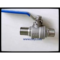 Buy cheap RPTFE / PTFE / PEEK / PPL Seat Extend Body Stainless Ball Valve With Lock Hand product