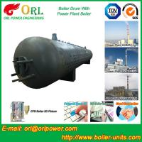 Buy cheap 300 Ton Hot Water Carbon Steel Boiler Drum Water Proof Heat Insulation product