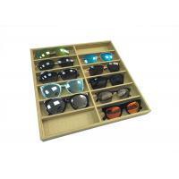 Buy cheap Eco-friendly Linen Sunglasses Display Tray / Eyeglasses Storage Case product
