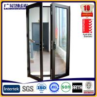 Buy cheap aluminium glass double sashes swing and hinged doors product