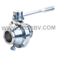 Quality Sanitary Butterfly Ball Valve New type for sale
