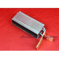 Buy cheap Progressive Die Stamping Copper Pipe Heat Sink With Aluminum Enclosure product