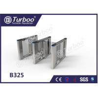 Buy cheap Office Security Swing Electronic Turnstile Barrier Gate RFID Card Reader product